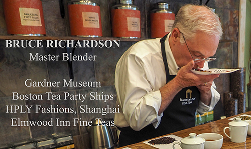 Tea blender and author Bruce Richardson